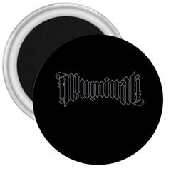 Illuminati 3  Magnets by Valentinaart