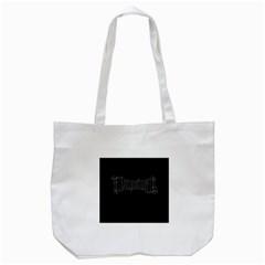 Illuminati Tote Bag (white) by Valentinaart