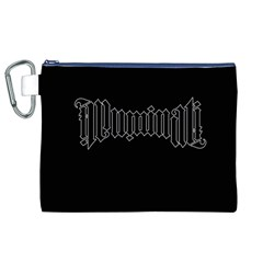 Illuminati Canvas Cosmetic Bag (xl) by Valentinaart
