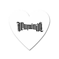 Illuminati Heart Magnet by Valentinaart