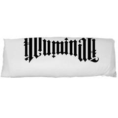 Illuminati Body Pillow Case Dakimakura (two Sides) by Valentinaart