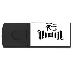 Illuminati Usb Flash Drive Rectangular (4 Gb) by Valentinaart