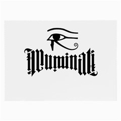 Illuminati Large Glasses Cloth (2 Side) by Valentinaart