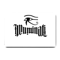 Illuminati Small Doormat  by Valentinaart