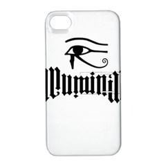 Illuminati Apple Iphone 4/4s Hardshell Case With Stand by Valentinaart