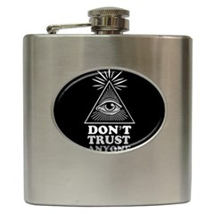 Illuminati Hip Flask (6 Oz) by Valentinaart