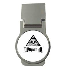 Illuminati Money Clips (round)  by Valentinaart