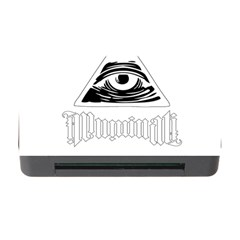 Illuminati Memory Card Reader With Cf by Valentinaart