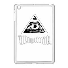 Illuminati Apple Ipad Mini Case (white) by Valentinaart