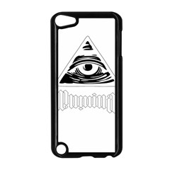 Illuminati Apple Ipod Touch 5 Case (black) by Valentinaart