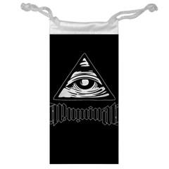 Illuminati Jewelry Bag by Valentinaart