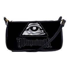 Illuminati Shoulder Clutch Bags by Valentinaart