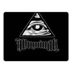 Illuminati Fleece Blanket (small) by Valentinaart
