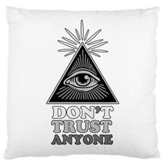 Illuminati Standard Flano Cushion Case (one Side) by Valentinaart