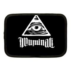Illuminati Netbook Case (medium)  by Valentinaart