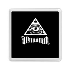 Illuminati Memory Card Reader (square)  by Valentinaart