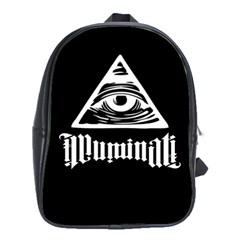 Illuminati School Bags (xl)  by Valentinaart