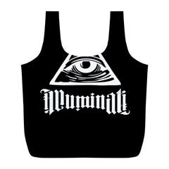 Illuminati Full Print Recycle Bags (l)  by Valentinaart