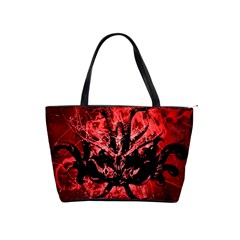 Scary Background Shoulder Handbags by dflcprints
