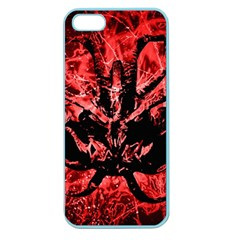 Scary Background Apple Seamless Iphone 5 Case (color) by dflcprints