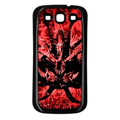 Scary Background Samsung Galaxy S3 Back Case (black) by dflcprints