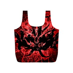 Scary Background Full Print Recycle Bags (s)  by dflcprints