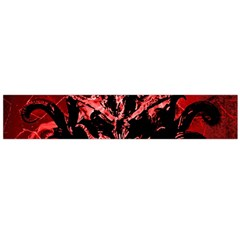 Scary Background Flano Scarf (large)  by dflcprints