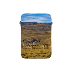 Group Of Vicunas At Patagonian Landscape, Argentina Apple Ipad Mini Protective Soft Cases by dflcprints