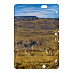 Group Of Vicunas At Patagonian Landscape, Argentina Kindle Fire Hdx 8 9  Hardshell Case by dflcprints