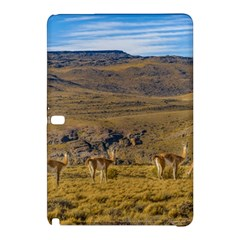 Group Of Vicunas At Patagonian Landscape, Argentina Samsung Galaxy Tab Pro 10 1 Hardshell Case by dflcprints