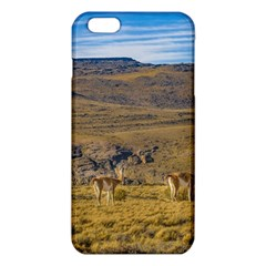 Group Of Vicunas At Patagonian Landscape, Argentina Iphone 6 Plus/6s Plus Tpu Case by dflcprints