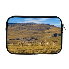 Group Of Vicunas At Patagonian Landscape, Argentina Apple Macbook Pro 17  Zipper Case by dflcprints