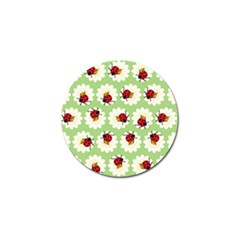 Ladybugs Pattern Golf Ball Marker (10 Pack) by linceazul