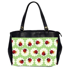Ladybugs Pattern Office Handbags (2 Sides)  by linceazul