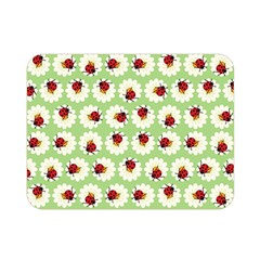 Ladybugs Pattern Double Sided Flano Blanket (mini)  by linceazul