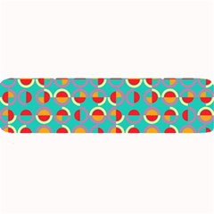 Semicircles And Arcs Pattern Large Bar Mats by linceazul
