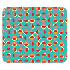 Semicircles And Arcs Pattern Double Sided Flano Blanket (small)  by linceazul
