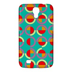 Semicircles And Arcs Pattern Samsung Galaxy Mega 6 3  I9200 Hardshell Case by linceazul