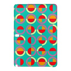 Semicircles And Arcs Pattern Samsung Galaxy Tab Pro 12 2 Hardshell Case by linceazul