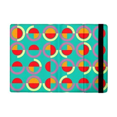 Semicircles And Arcs Pattern Ipad Mini 2 Flip Cases by linceazul
