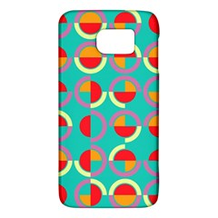 Semicircles And Arcs Pattern Galaxy S6 by linceazul