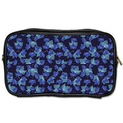 Autumn Leaves Motif Pattern Toiletries Bags by dflcprints