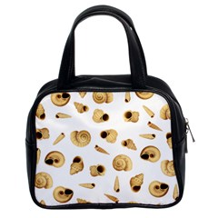 Shell Pattern Classic Handbags (2 Sides) by Valentinaart