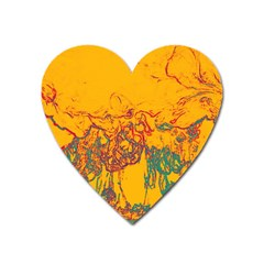 Colors Heart Magnet by Valentinaart
