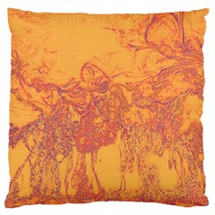 Colors Large Flano Cushion Case (one Side) by Valentinaart