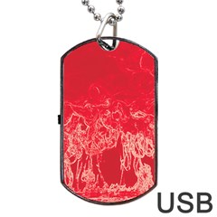 Colors Dog Tag Usb Flash (two Sides) by Valentinaart