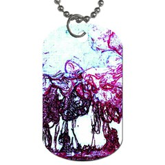 Colors Dog Tag (two Sides) by Valentinaart