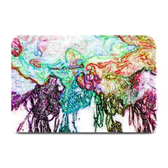 Colors Plate Mats by Valentinaart
