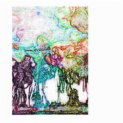 Colors Large Garden Flag (two Sides) by Valentinaart