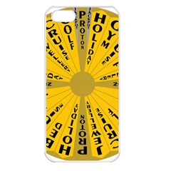 Wheel Of Fortune Australia Episode Bonus Game Apple Iphone 5 Seamless Case (white) by Mariart
